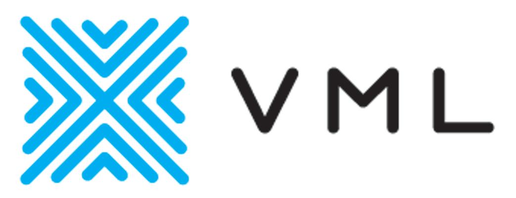 VML logo H color print